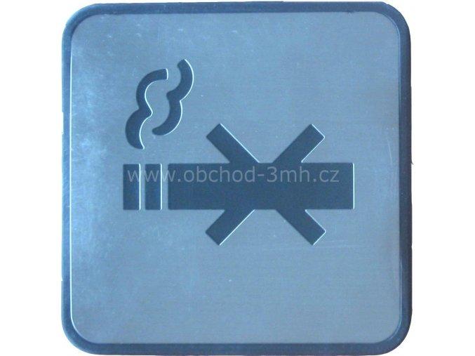 """Piktogram """"Zákaz kouření"""" Nerez"""