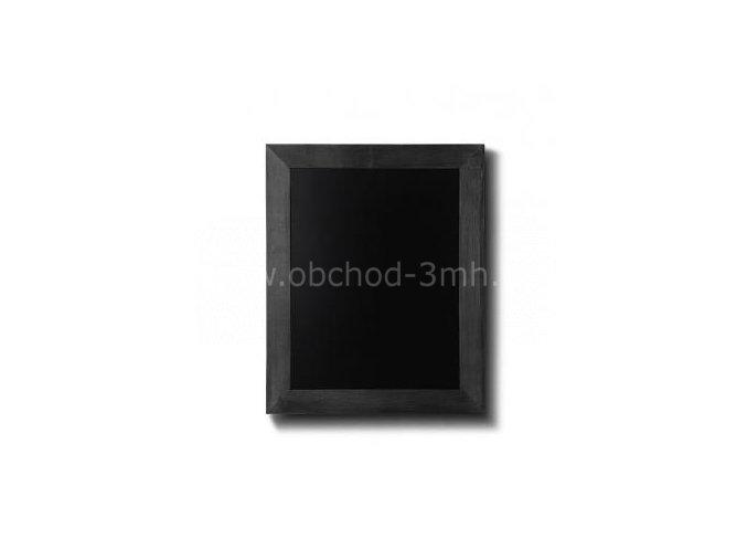 Dřevěná tabule 30x40, černá