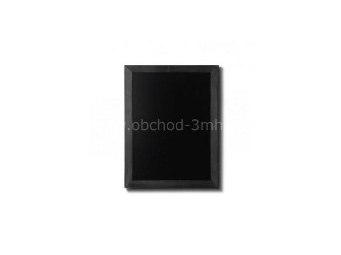 Dřevěná tabule 50x60, černá