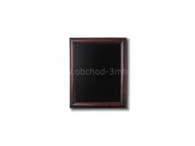 Dřevěná tabule 30x40, tmavě hnědá