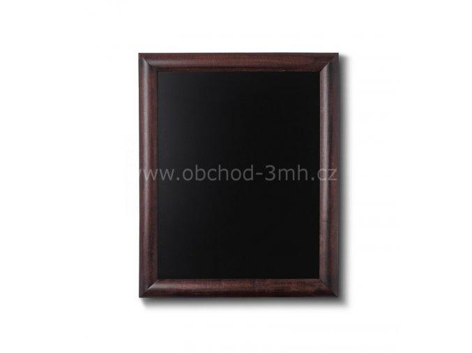 Křídová tabule 40x50, tmavě hnědá
