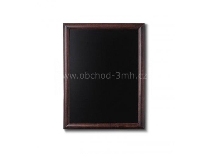Dřevěná tabule 50x60, tmavě hnědá