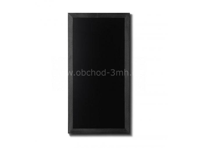 Dřevěná tabule 56x100, černá