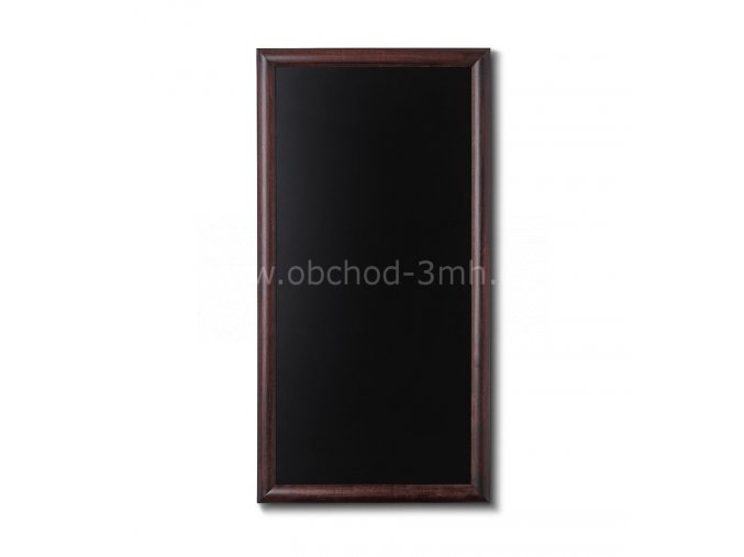 Křídová tabule 60x80, tmavě hnědá