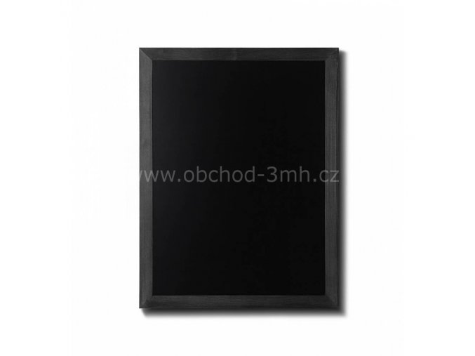Křídová tabule 60x80, černá