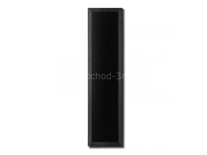 Dřevěná tabule 35x150, černá