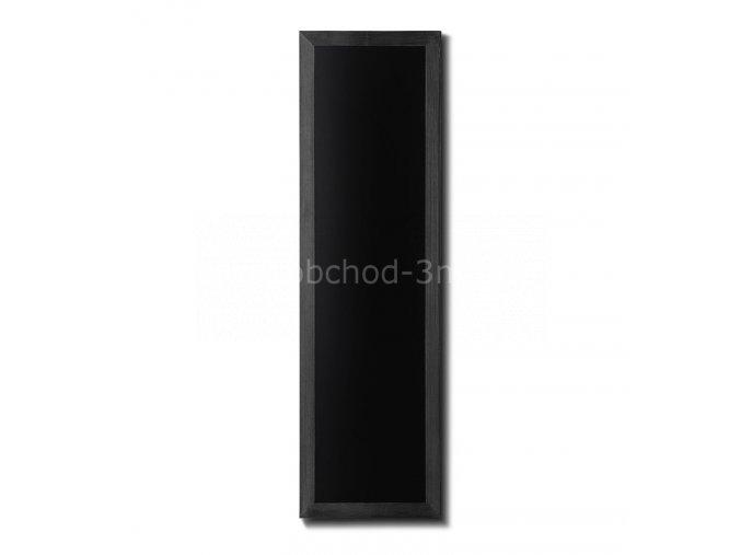 Dřevěná tabule 40x120, černá