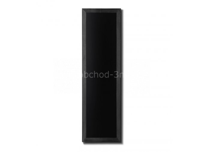 Křídová tabule 40x120, černá