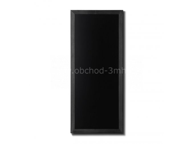 Dřevěná tabule 56x120, černá