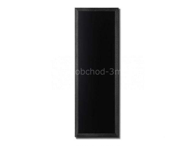 Dřevěná tabule 56x150, černá