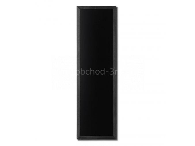 Dřevěná tabule 56x170, černá