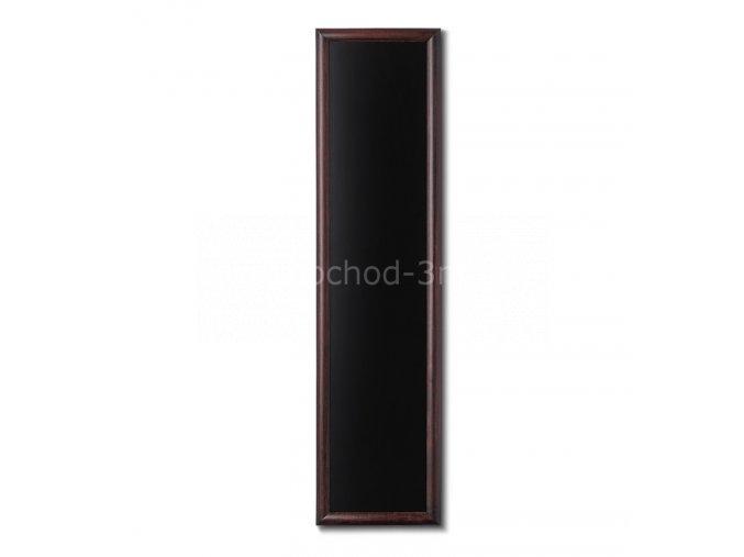 Dřevěná tabule 35x150, tmavě hnědá
