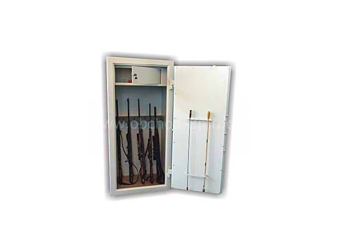 Skříň trezor na zbraně WSB 7 - dvouplášťový s elektronickým zámkem