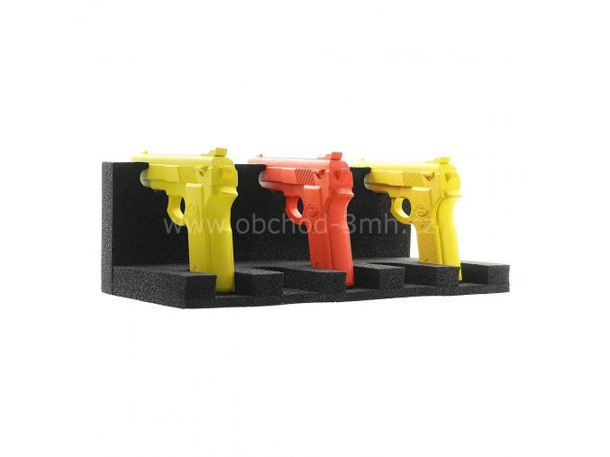 Gunholder univerzální držák na pět krátkých zbraní