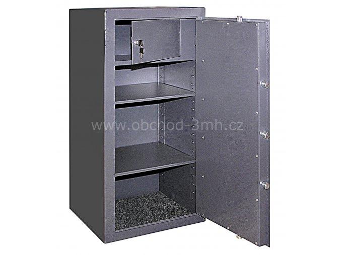 Trezor nábytkový AT 10 - otevřený trezor
