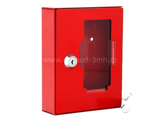 Nouzová skříňka na klíč NSK1 s kladivkem