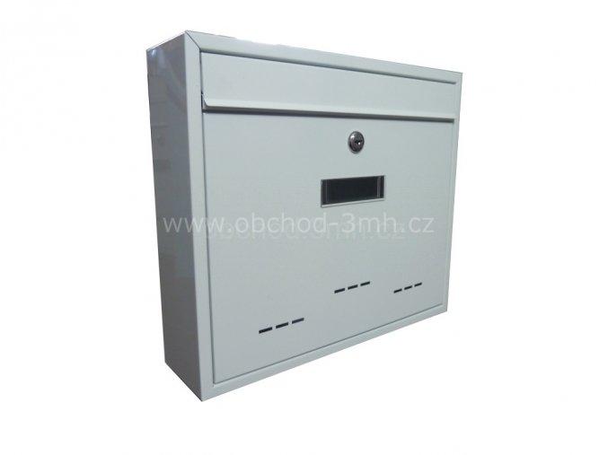 Poštovní schránka RADIM velká bílá