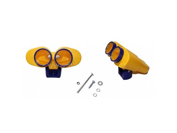 Dětský dalekohled star červený