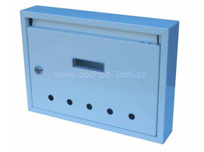 Poštovní schránka PE-02 bílá