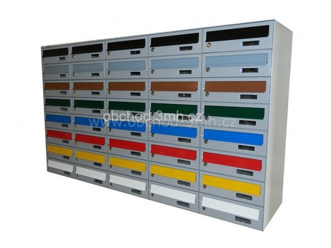 Poštovní schránka MB-01 v sestavě