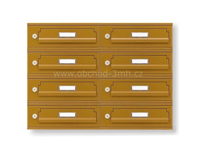 Poštovní schránka MB-01-300-VA v sestavě