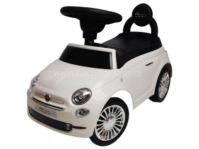 FIAT 500, bílé