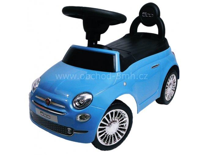 FIAT 500, modrý