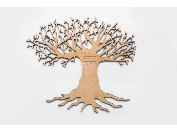 Dřevěný obraz - STROM ŽIVOTA