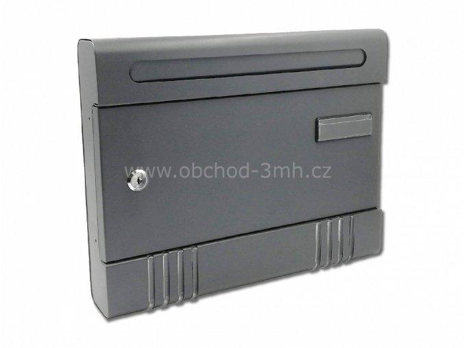 Poštovní schránka Robert velká, 365x290x65 mm