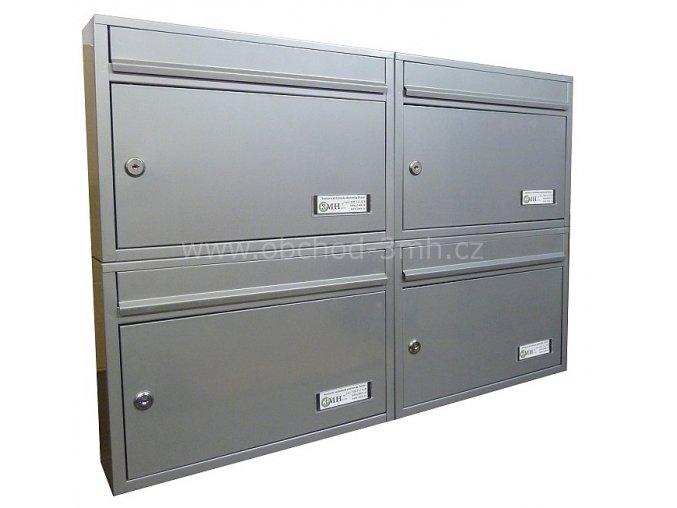 Poštovní schránka RG-01 v sestavě