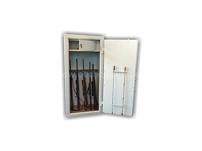 Skříň trezor na zbraně WSB 6 - dvouplášťový