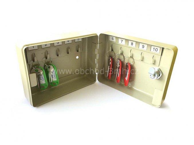 Klíčovka T85 152x115x65 /10 klíčů