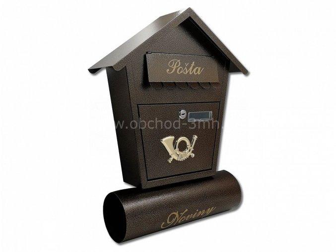Poštovní schránka ŠTĚPÁN - ANT . MĚDĚNÁ