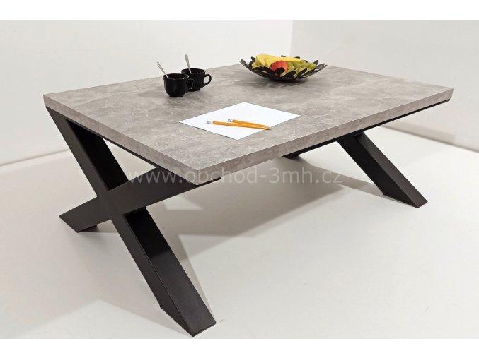 Konferenční stůl X8 - beton