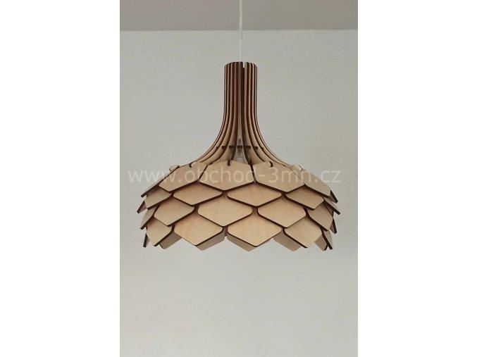 Dřevěné svítidlo ORIENTAL 35D
