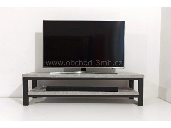 Televizní stolek ECHT I6/3 - BETON