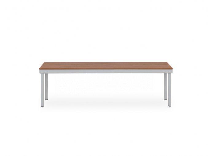 Šatní lavice, 460 x 1200 x 350 mm - lamino/kov