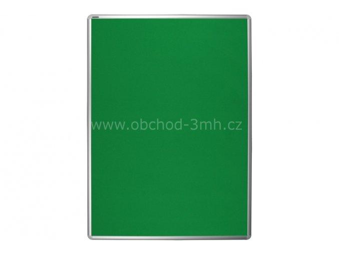 Textilní tabule ekoTAB 75x100 cm, zelená