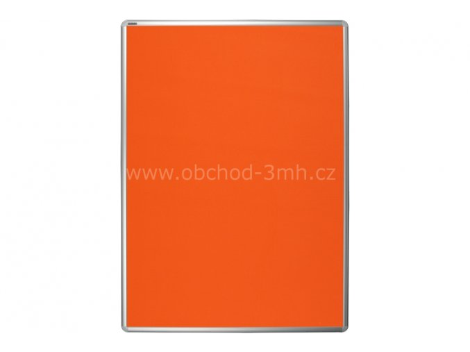 Textilní tabule ekoTAB 75x100 cm, oranžová