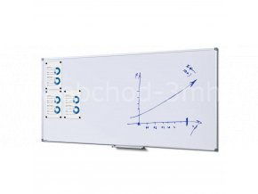 Popisovatelná magnetická tabule - whiteboard 900x1800mm SCRITTO
