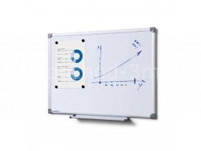 Popisovatelná magnetická tabule - whiteboard SCRITTO enamel, 450x600mm