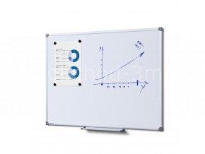 Popisovatelná magnetická tabule - whiteboard SCRITTO enamel, 600x900mm