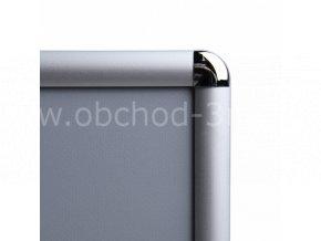 Klaprám A0, oblý roh, profil 25mm