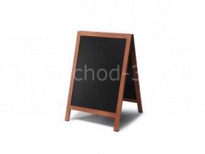 Reklamní áčko s křídovou tabulí 55x85, světle hnědá