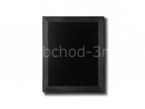 Dřevěná tabule 40x50, černá
