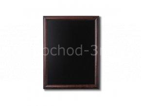 Křídová tabule 50x60, tmavě hnědá