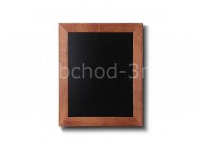 Dřevěná tabule 50x60, světle hnědá