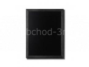 Dřevěná tabule 70x90, černá