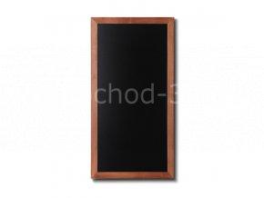 Dřevěná tabule 56x100, světle hnědá