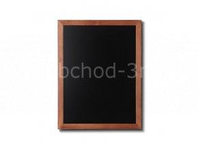 Dřevěná tabule 60x80, světle hnědá